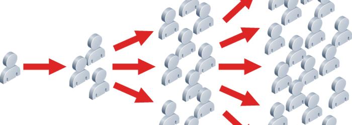 抜群の情報拡散性