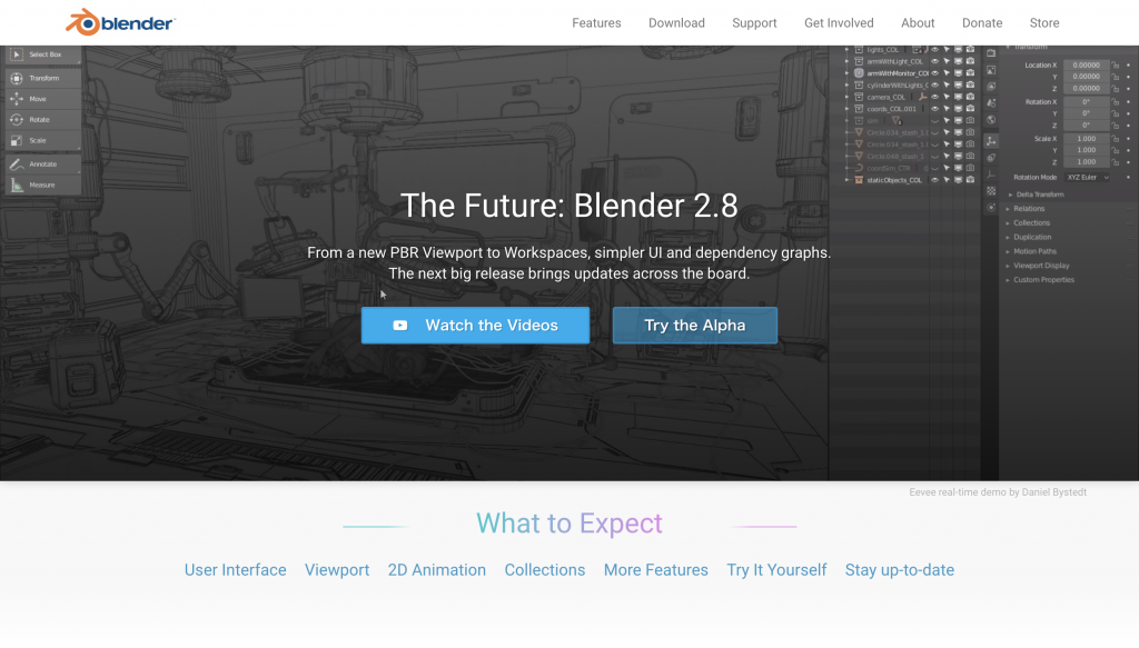 The Future Blender 2 8 — blender org